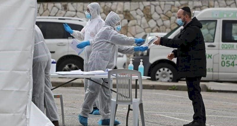 إسرائيل تسجل 57 وفاة و2624 إصابة جديدة بكورونا
