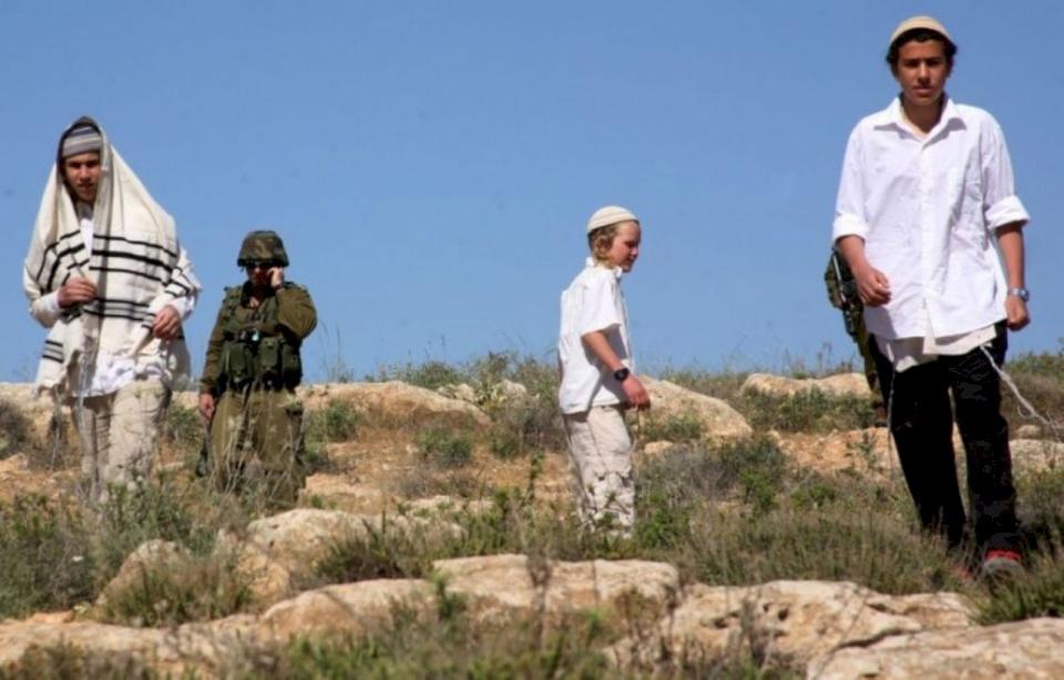 مصادر: مستوطنون يختطفون فتى شرق نابلس