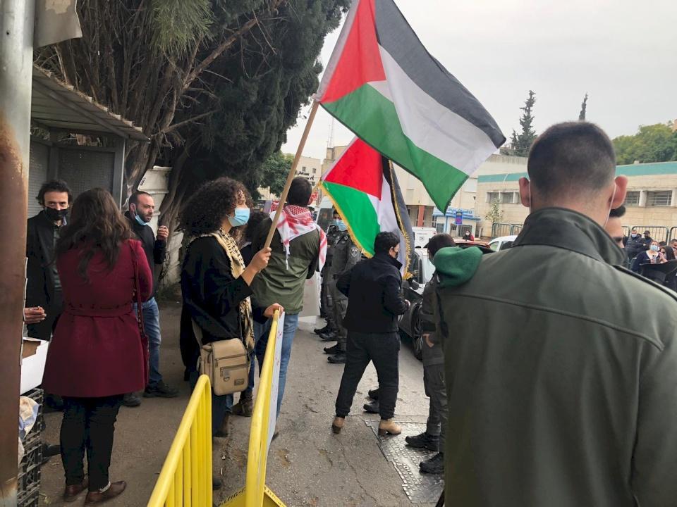 صور: الناصرة ترفع أعلام فلسطين في وجه نتنياهو