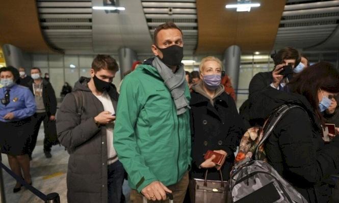 اعتقال نافالني يفتح النار على روسيا
