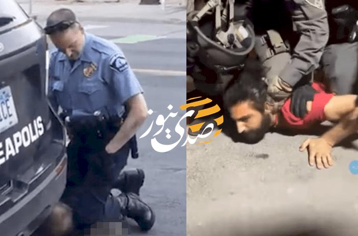 شاهد- الاحتلال يعتقل مقدسياً على طريقة جورج فلويد في الشيخ جراح!