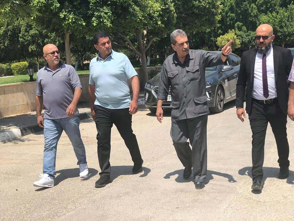 اللواء الطيراوي يستقبل وفداً من أبناء الجالية الفلسطينية في شيكاغو