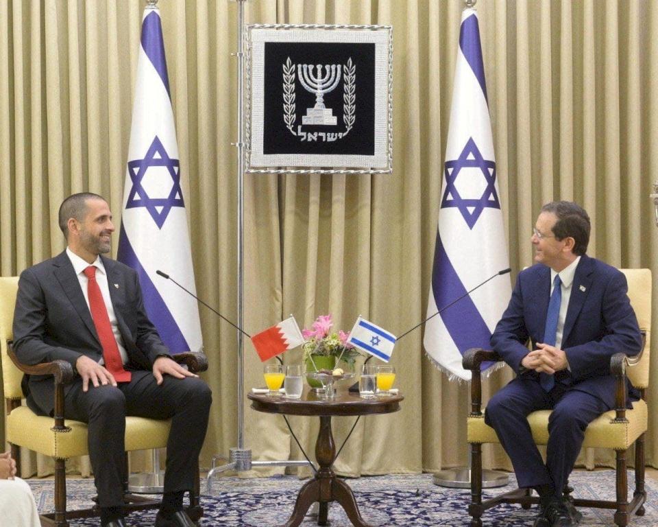 لأول مرة تاريخيا.. اعتماد سفير البحرين الجديد في إسرائيل