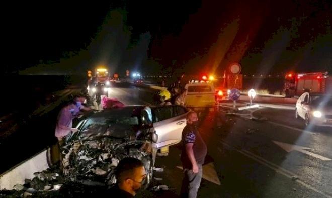 إصابة شابة بجراح خطيرة جراء حادث سير في يانوح