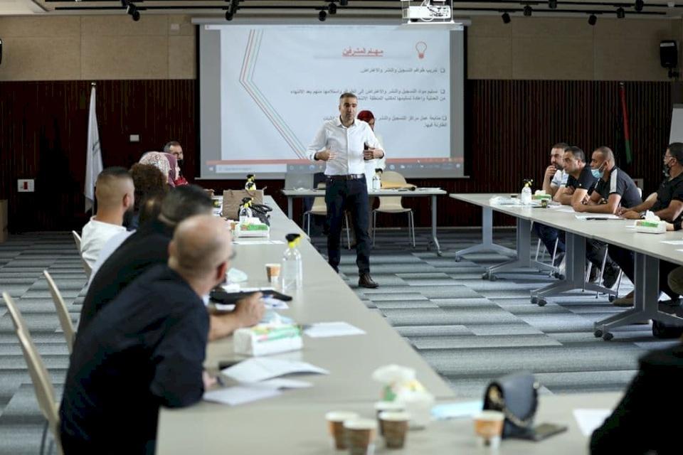 لجنة الانتخابات تنهي تدريب مشرفي مرحلة التسجيل والنشر والاعتراض